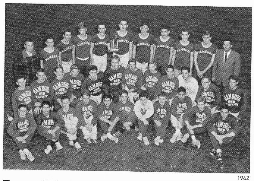 1962 Cross Country Mens Team