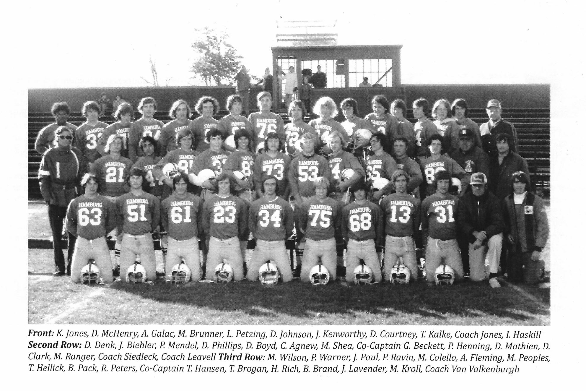 1974 Undefeated Team