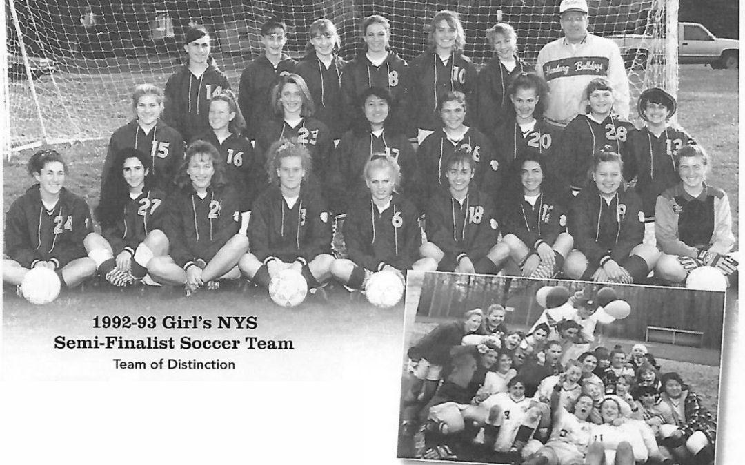 1992-93 Girl's NYS Semi-Finalist Soccer Team