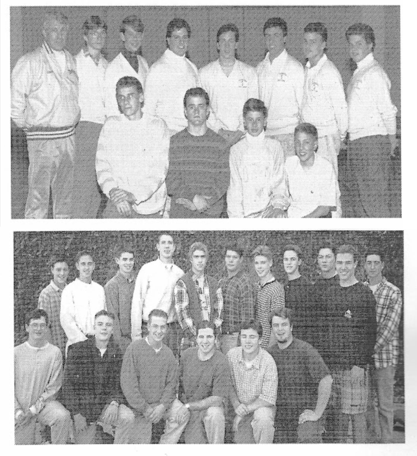 Boy's Golf Dynasty of Teams Team of Distinction, 1988 - 1999