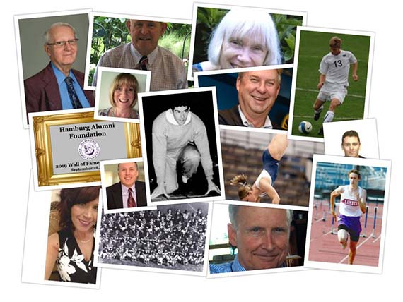 2019 Wall of Fame Collage